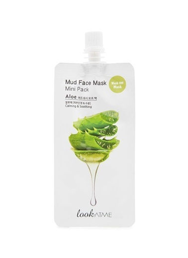 Look Mud Face  Mask Mini Pack Aloe  Vera Renksiz